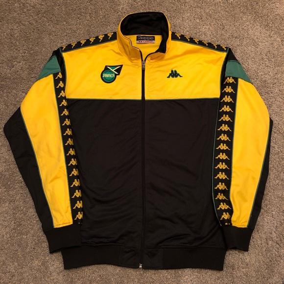 0aa694abd74 Vintage 90s Kappa Jamaica Soccer Futbol Jacket